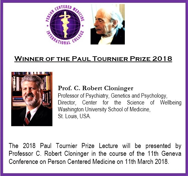 Call for nomincations for the Paul Tourner prize 2018